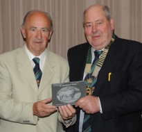 Past President Paddy O Callaghan